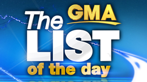 The GMA List of the Day