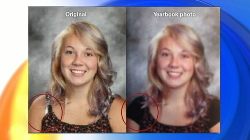 VIDEO: A Utah high school defends photoshopping students photos.