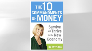 """PHOTO The book, """"The 10 Commandments of Money: Survive and Thrive in the New Economy"""" is shown."""