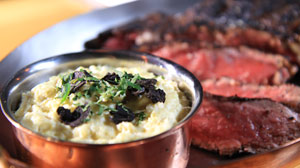 Chef David Walzog?s Black Truffle Creamed Corn