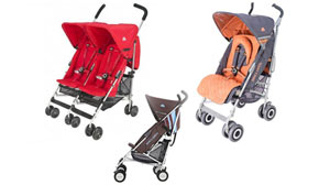 British stroller maker Maclaren is recalling a million strollers, after receiving a dozen reports of children?s fingertips getting amputated in a hinge on the strollers.