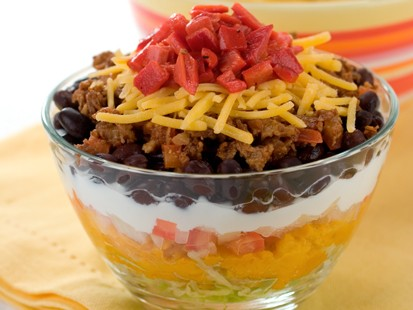 PHOTO Hungry Girls Amazing Ate-Layer Dip
