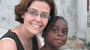Photo: Nearly adopted child killed in Haiti earthquake