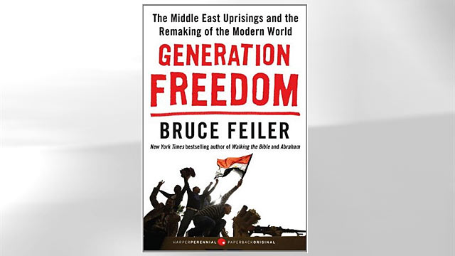 "PHOTO: ""Generation Freedom: The Middle East Uprisings and the Remaking of the Modern World"" book cover by Bruce Feiler."