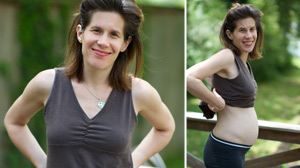 Photo: Pregnant With Eating Disorder