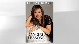 "PHOTO: Cheryl Burke on the cover of her book titled, ""Dancing Lessons: How I Found Passion and Potential on the Dance Floor and in Life""."