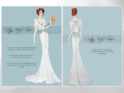 weddings brides magazine operation dream dress winner meet designers story