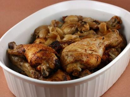 PHOTO:??Stephanie ODeas 20 to 40 garlic clove chicken.
