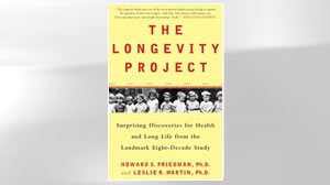 "PHOTO: A photo of the book cover, ""The Longevity Project"", from HUDSON STREET PRESS."