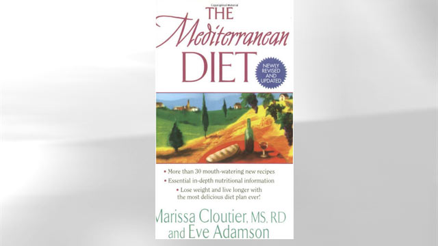 PHOTO: Mediterranean Diet book jacket.