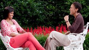 PHOTO: Michelle Obama ANd Robin Roberts