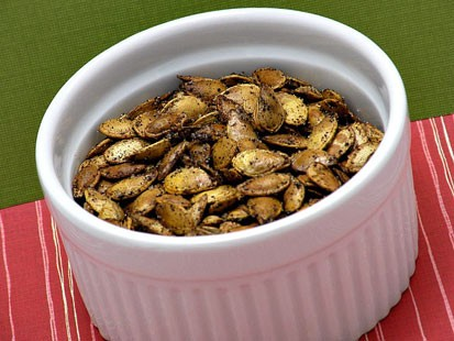 PHOTO:??Amy Greens Roasted Pumpkin Seeds