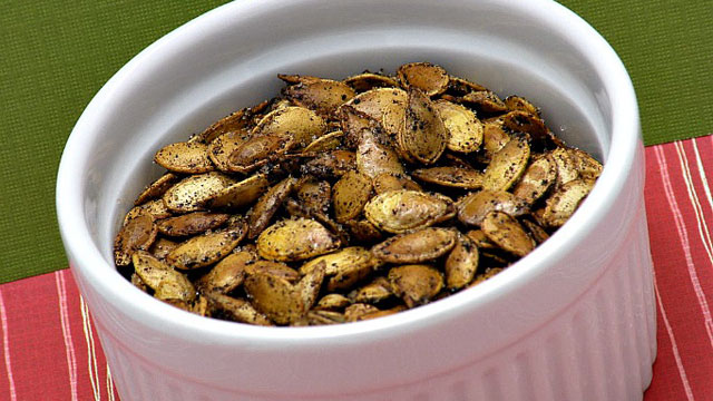 PHOTO: Amy Green's Roasted Pumpkin Seeds