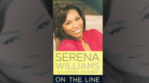 "PHOTO The cover for the book ""On the Line"" by Serena Williams is shown."
