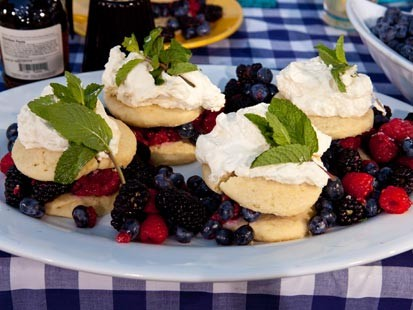 PHOTO: Mark Gaier and Clark Frasiers shortcakes with berries.