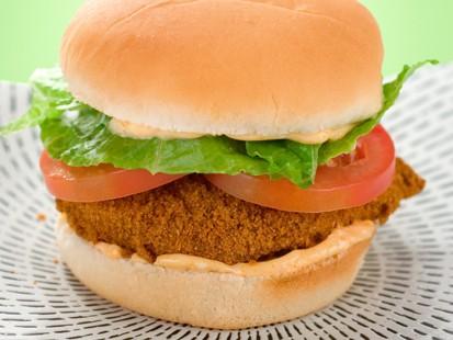 PHOTO Hungry Girls Spicy Crispy Chicken Sandwich