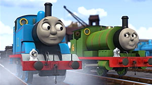 Photo: Thomas the Tank Engine Speaks: Classic Character Gets a Digital Makeover and His Own Voice For the First Time