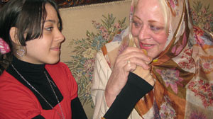 PHOTO Janet Greer was reunited with her daughter after 12 long years last wk during Chris Cuomo?s trip to the Cairo, Egypt to cover President Obamas speech to the Muslim community.
