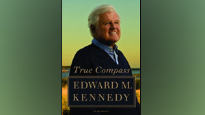 "PHOTO The cover for the book ""True Compass: A Memoir"" by Edward M. Kennedy is shown."