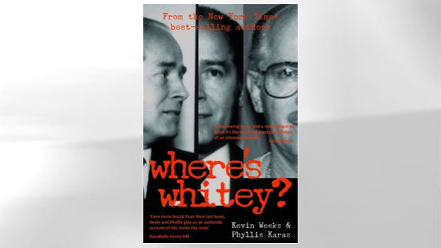 """PHOTO:Book cover of """"Wheres Whitey?"""" by Phyllis Karas and Kevin Weeks."""