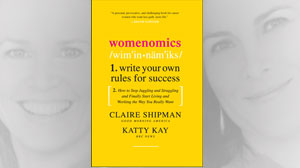 "PHOTO The book cover for the book ""Womenomics,"" by Claire Shipman and Katty Kay is shown."
