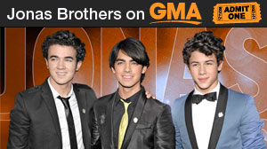 Jonas Brothers fans take less than 10 minutes to claim free tickets to a Central Park concert by the Disney boy band on GMA