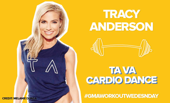 tracy anderson dance cardio workout