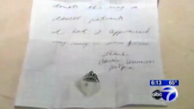 VIDEO: An anonymous donor left the $3,300 rings in a Conn. hospitals chapel.