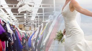 Wedding Dress thrift store