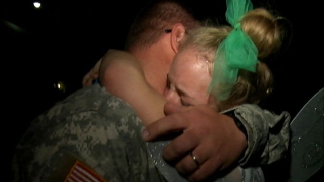 VIDEO: Tayla Carrigan hadnt seen her dad since April, when he was deployed to Afghanistan.