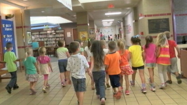 VIDEO: Pipe Creek Elementary school officials will keep the pairs together in the same class.