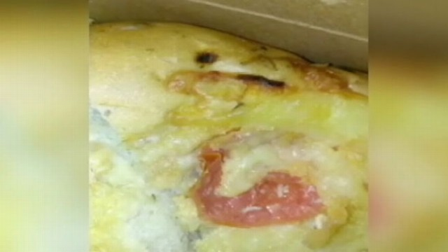 VIDEO: Passenger recorded video of the bugs he found on food purchased from an airport vendor.