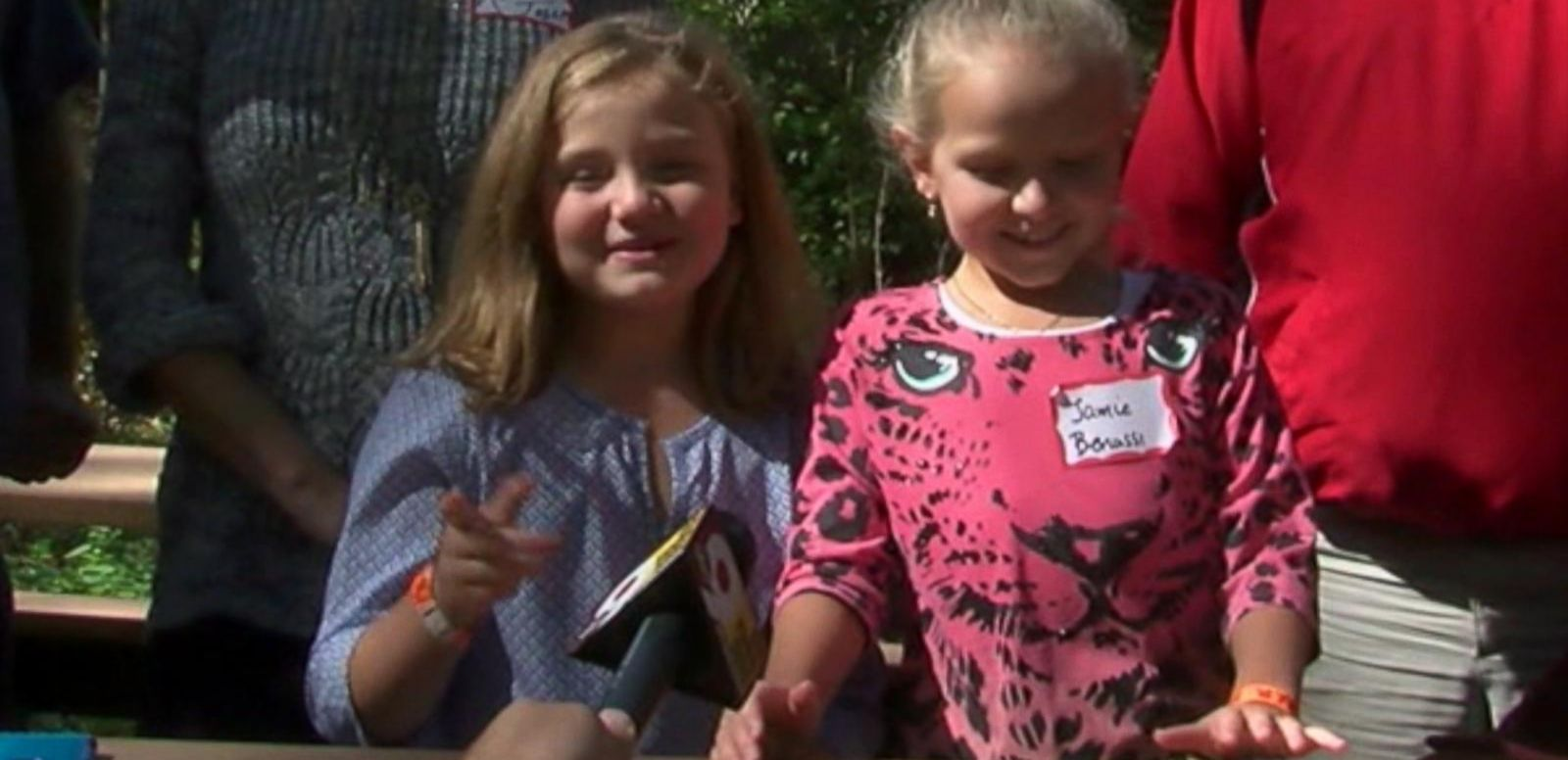 VIDEO: Piper Joseph, 9, met her biological parents and 10-year-old sister Jamie after learning she was born from an adopted frozen embryo.