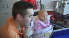 VIDEO: A video of nurse Brandon Chase singing to leukemia patient Sophia Torres has gone viral.