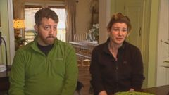 VIDEO: Nurse Jason Diacumskis seven-year wait for a kidney donation ended when his wife, who is also a nurse, was found to be a match.