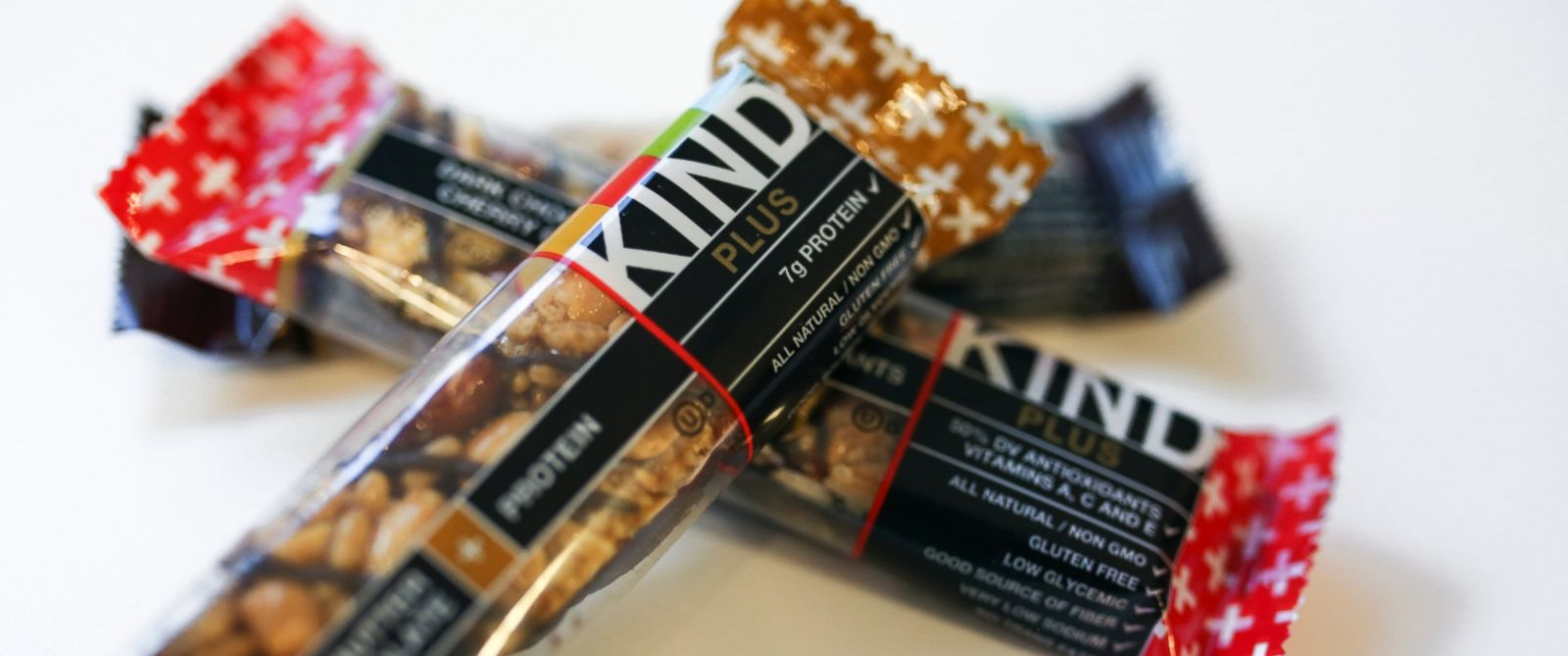 """PHOTO: The FDA sent KIND Healthy Snacks a warning letter, stating that several of its bars bear labels that dont comply with FDA standards, making claims like, """"healthy"""" """"no trans fats"""" and """"plus"""" without meeting the requirements to do so."""