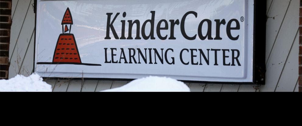 PHOTO: Icicles line the exterior of KinderCare Learning Center on East Palatine Road, Feb. 5, 2015, in Palatine, Ill.