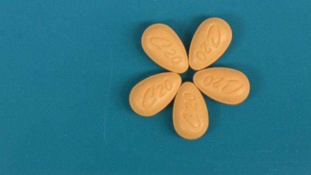 PHOTO: Cialis tablets are pictured on a tray at a New York pharmacy on Tuesday, May 18, 2004. U.S. prescriptions of Viagra declined about 9.1 percent in April from a year ago since Eli Lilly & Co. and Icos Corp. unveiled their longer-lasting Cialis pill.