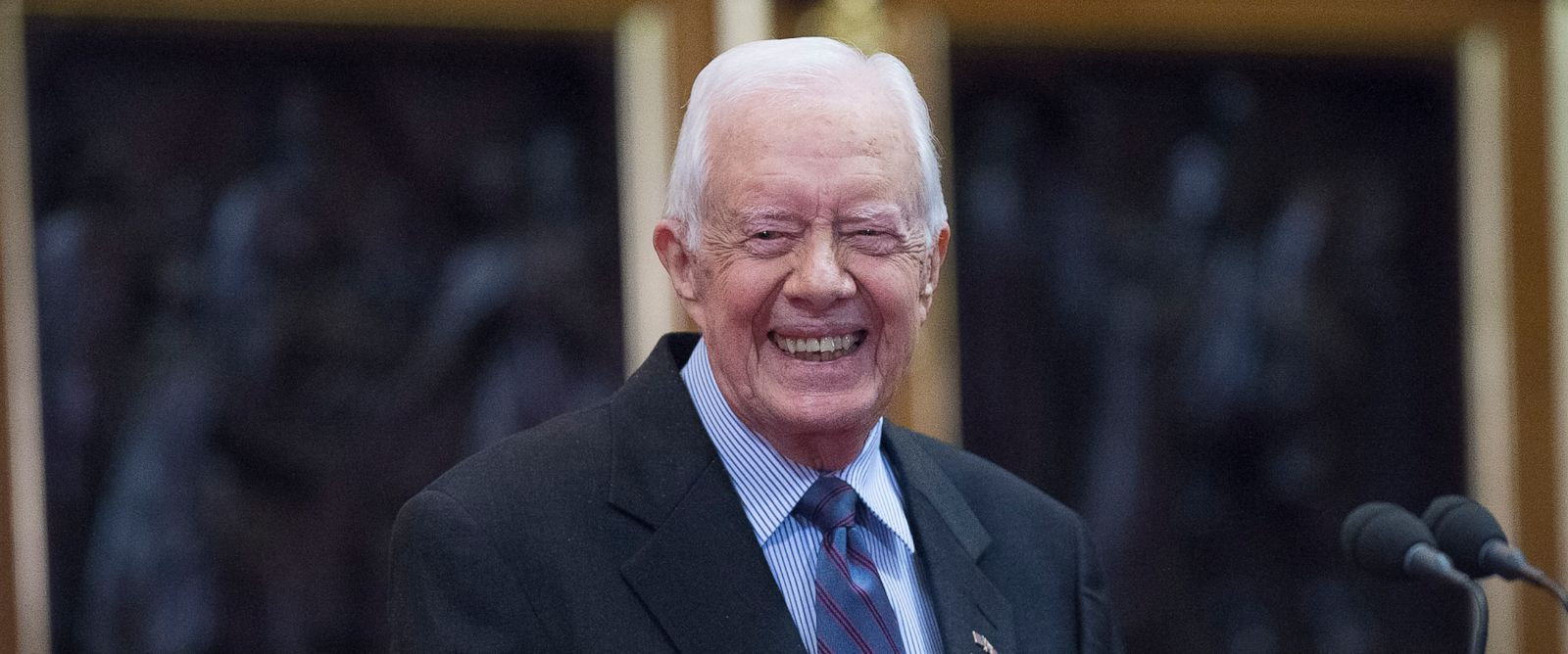 PHOTO: Former President Jimmy Carter announced he would no longer need cancer treatment.