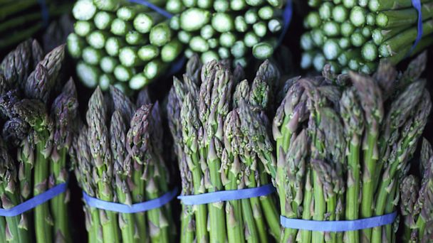 PHOTO: Asparagus are seen here.