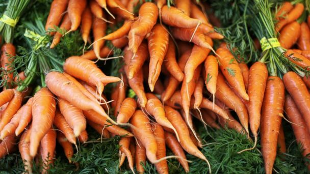 PHOTO: Carrots may help improve your skin.