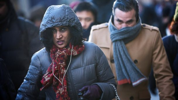 PHOTO: The secret to dressing warmly is layers.