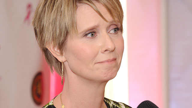PHOTO: Event honoree Cynthia Nixon attends the 3rd annual Breast Cancer Summit at The Coral House, Sept. 30, 2013, in Baldwin, New York.