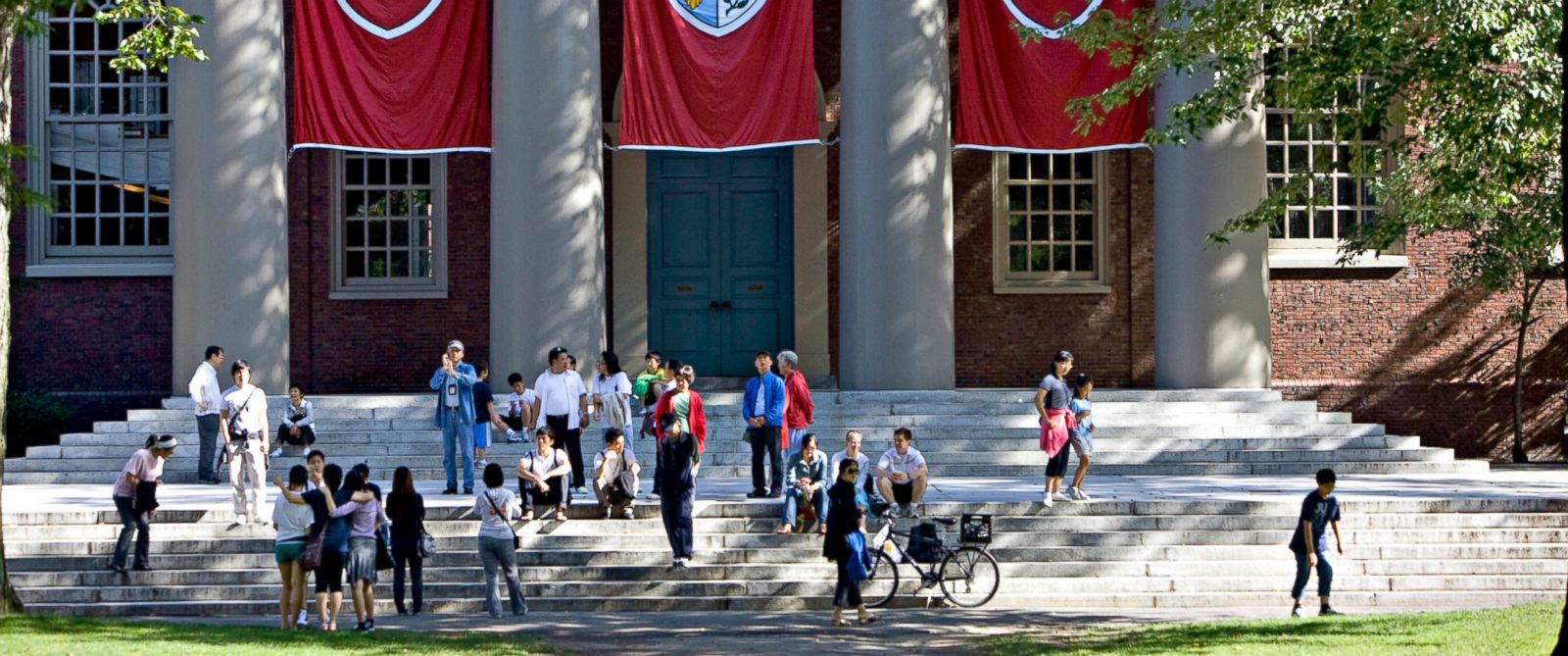 PHOTO: Harvard University will review its sexual assault policy after a female student says the college did nothing after a violent assault.