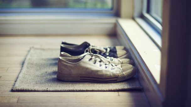 PHOTO: Leaving your shoes at the door