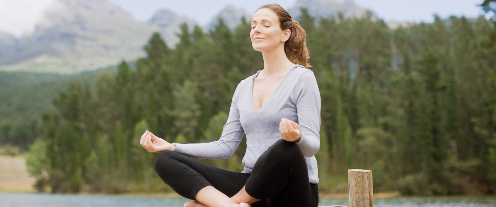 PHOTO: Meditation can reduce stress and lower blood pressure.