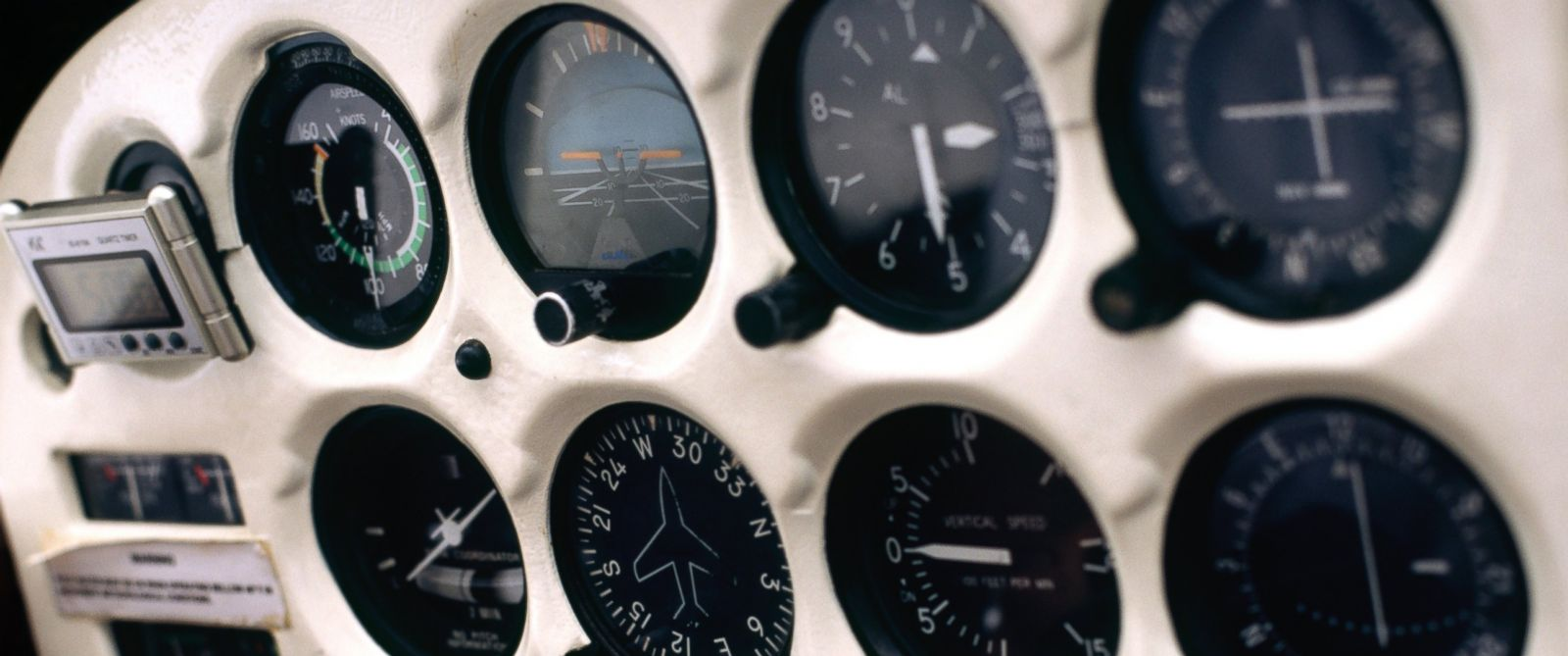 PHOTO: Passengers may have succumbed to hypoxia, or a lack of oxygen. A flight instrument console is pictured in this stock image.