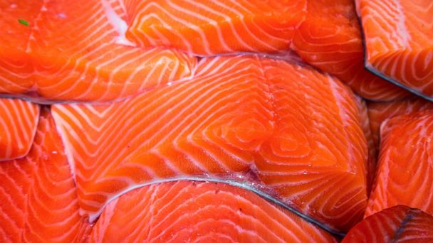 PHOTO: Fresh salmon