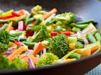 PHOTO: A vegetarian diet can reduce the risk of heart disease.