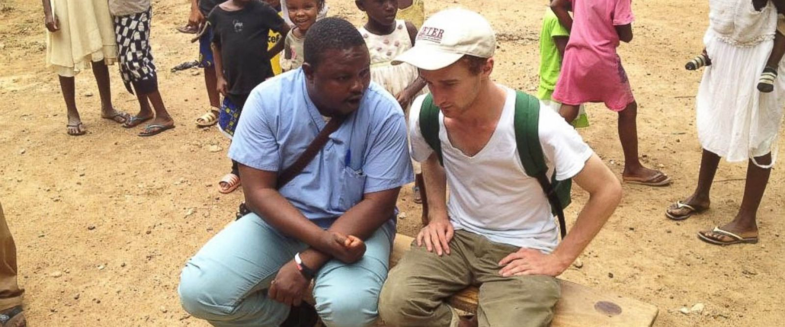 PHOTO: Raphael Frankfurter, executive director of Wellbody Alliance in Sierra Leone.